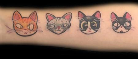 Tattoos - Cats - 126408