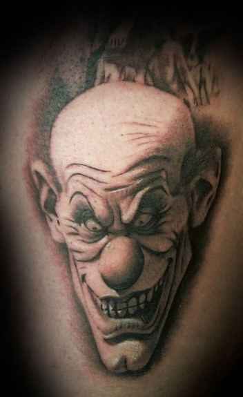 Francisco Sanchez - evil clown