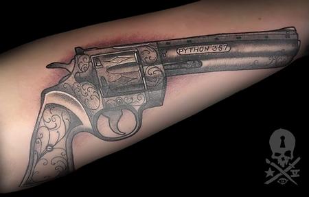 Tattoos - Colt Python - 133930