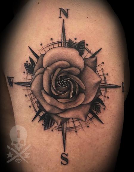 Tattoos - CompassRose - 132897