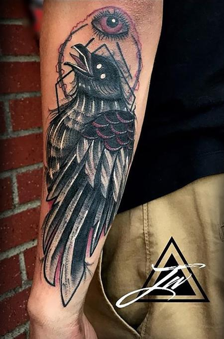 Tattoos - Crow Tattoo - 134151