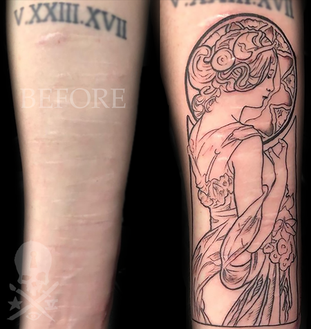 Tattoos - Art Nouveau - 138338