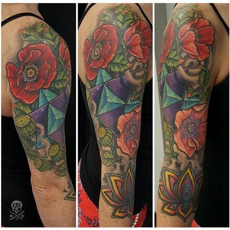 Zack Ross - GeoFlower Sleeve