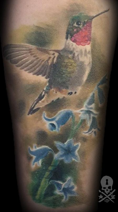 Tattoos - Humming bird - 131399