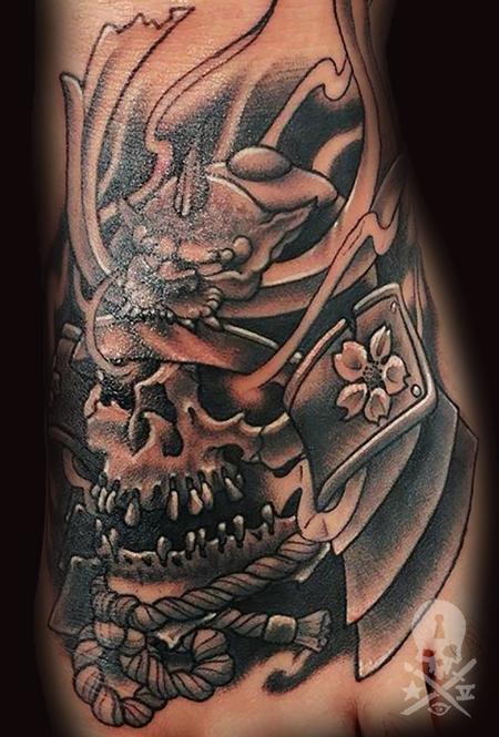 Matt Folse  - Irezumi style Samurai
