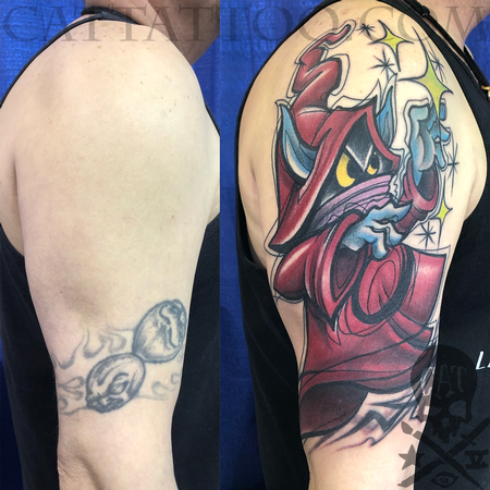 Tattoos - Wizard Coverup - 140355