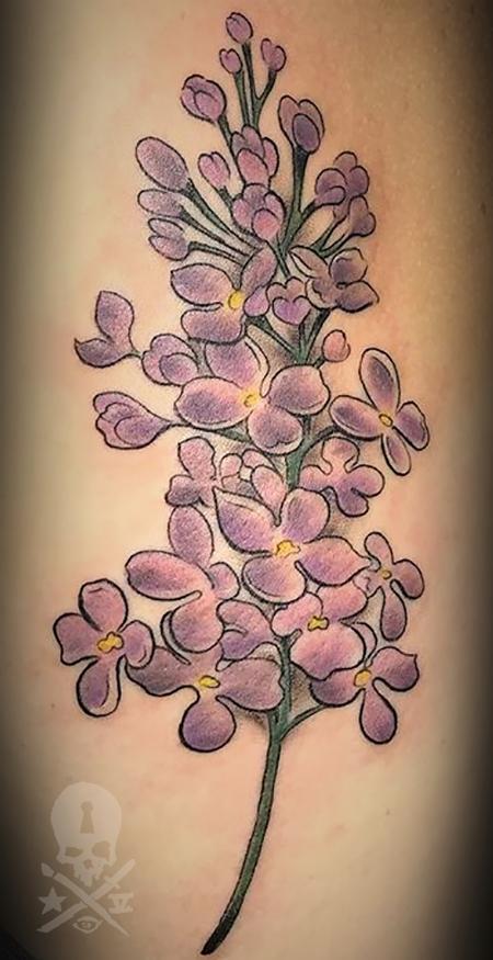 Crystal Mandrigues - Lilac