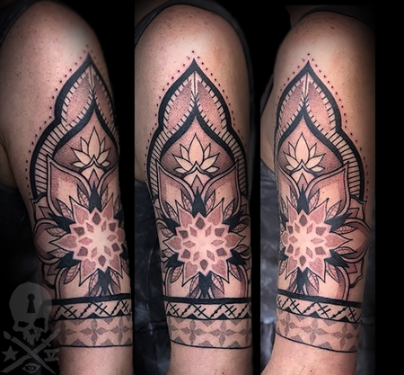 Tattoos - Mandala inspired  - 133829