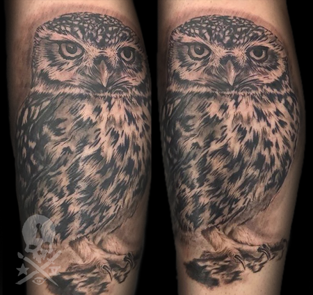 Tattoos - Owl  - 133979