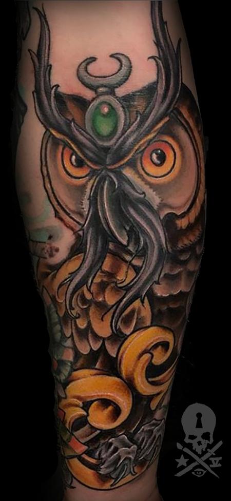 Tattoos - Owl - 134270