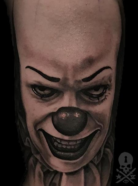 Tattoos - Pennywise(WIP) - 132240