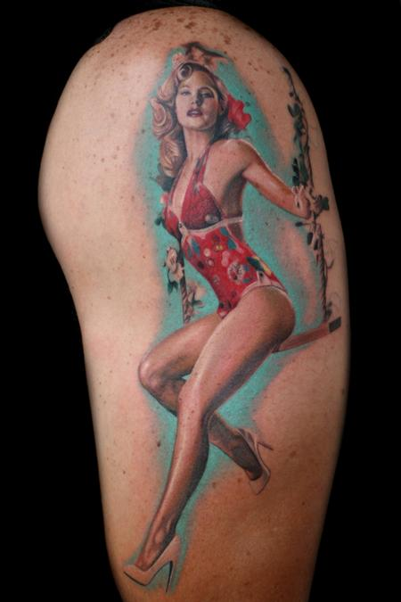 Tattoos - pinup - 60259