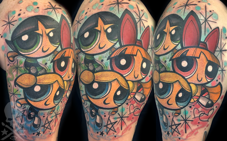 Tattoos - Powerpuff Girls - 138151