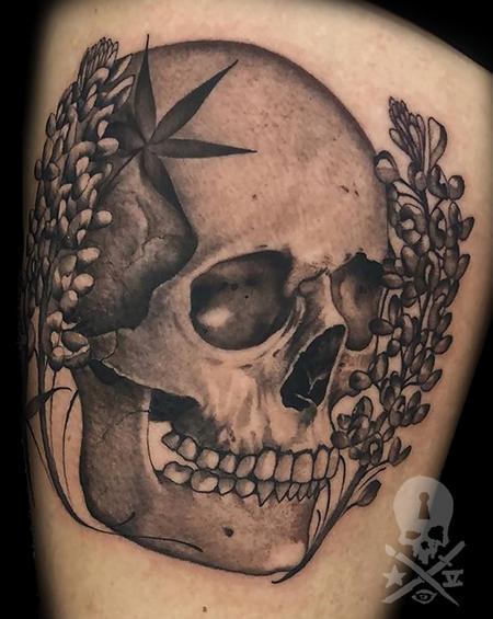 Robert Hornback - Skull