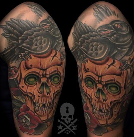 Zack Ross - Skull and Raven
