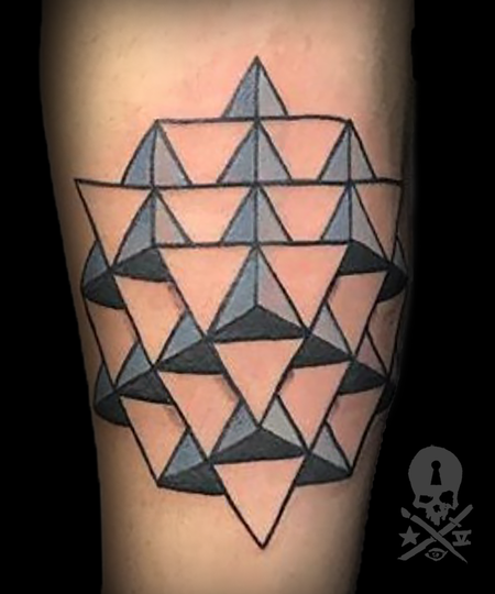 Tattoos - Star Tetrahedron - 133846