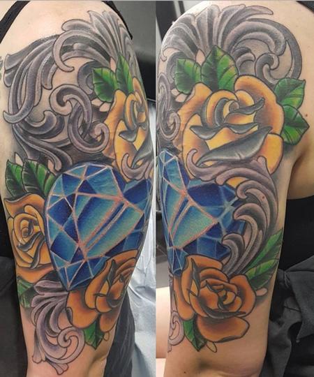 Zack Ross - Texas Rose/Crystal Heart
