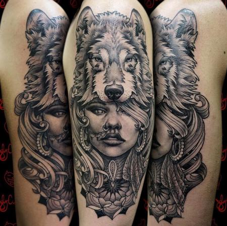 Joby Cummings - Wolf Headdress