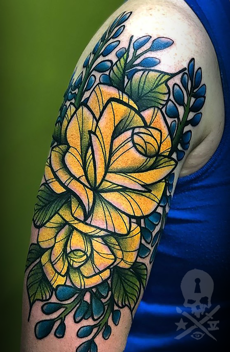 Tattoos - Rose/Bluebonnet - 139430