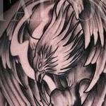 Prints-For-Sale - Black and Grey Pheonix - 142949
