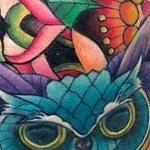 Prints-For-Sale - Floral Geometry and Crystal Owl - 143372