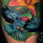 Tattoos - Flower/Bird - 139426