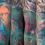 Tattoos - Underwater Sleeve - 137386