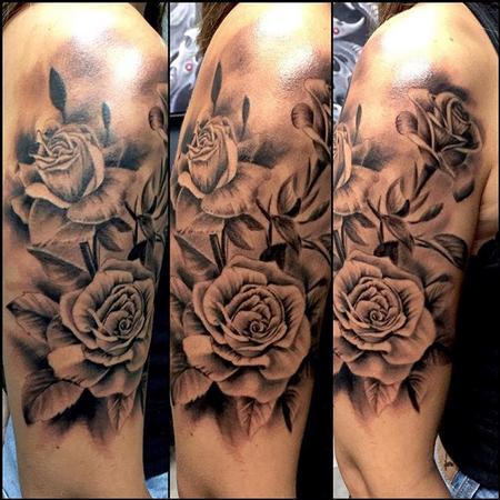 Tattoos - Roses - 119998