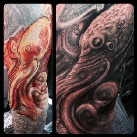 Tattoos - Octopus - 88913