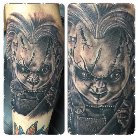 Tattoos - Chucky Doll - 122417