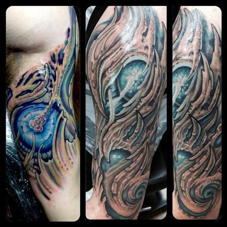 Tattoos - Bio Arm  - 122415