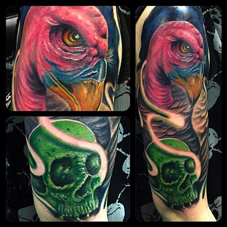 Tattoos - Vulture & Skull - 122447