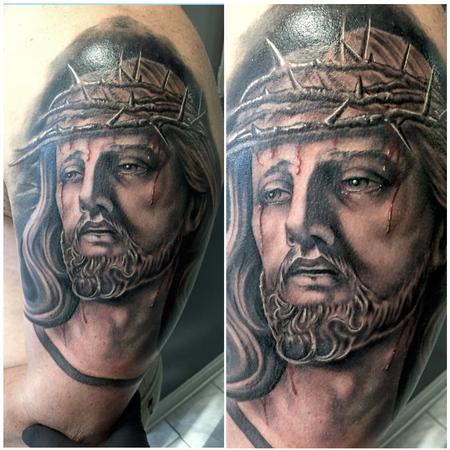 Tattoos - Jesus Christ - 122431