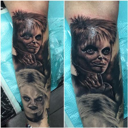 Tattoos - Chucky the Good Guy - 122445