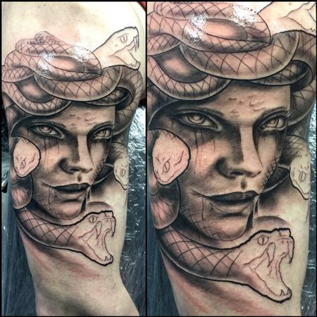 Tattoos - Medusa (WIP) - 122427