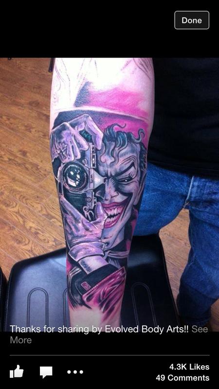 Tattoos - Joker - 122433