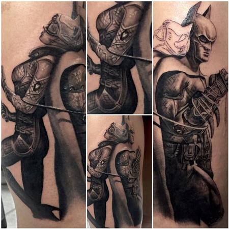 Tattoos - Batman & Catwoman - 122376
