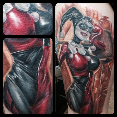 Tattoos - Harley Quinn - 122428