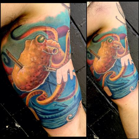 Tattoos - Octopus - 122440