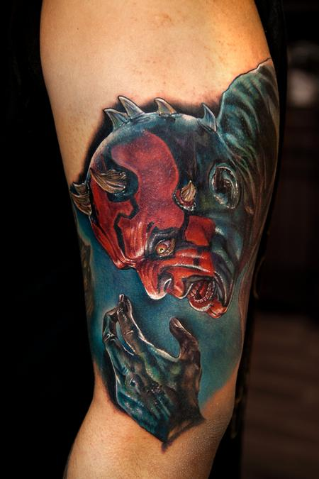 Tattoos - Darth Maul - 129662