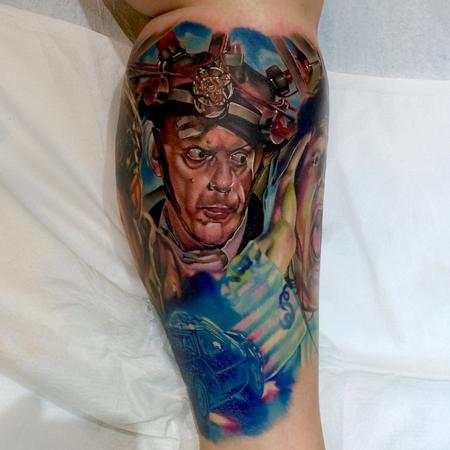 Tattoos - Doc Brown - 141724
