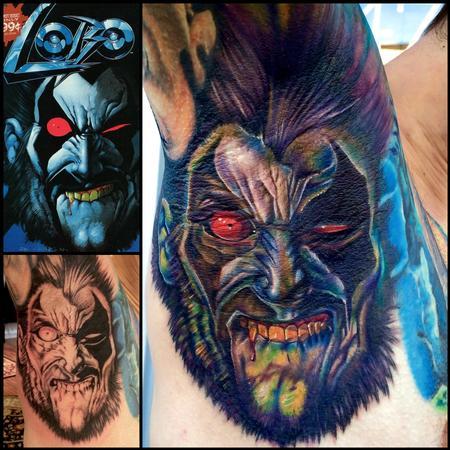 Tattoos - Lobo - 141726