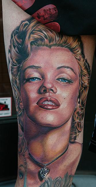 Tattoos - Marilyn Monroe