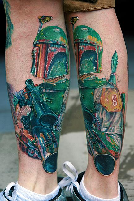 Tattoos - Boba Fett