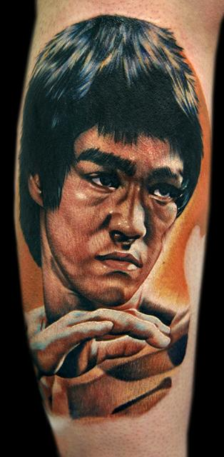 Tattoos - Bruce Lee