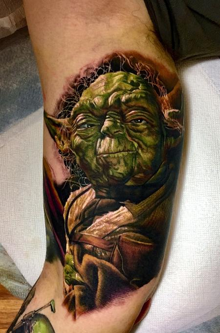 Tattoos - Yoda Tattoo