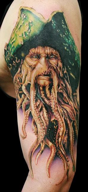 Tattoos - Second Davey Jones