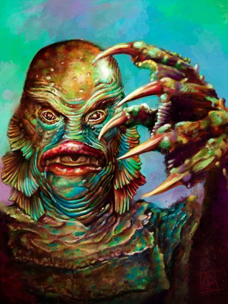 Tattoos - The Creature from the black lagoon