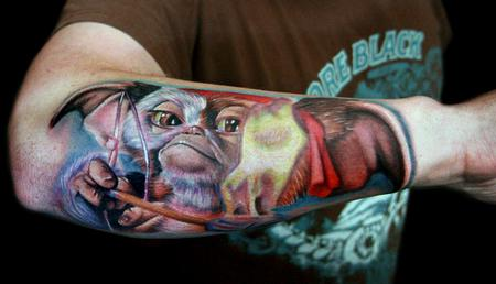 Tattoos - Gizmo from Gremlins