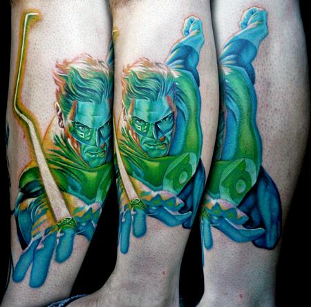 Tattoos - Green Lantern